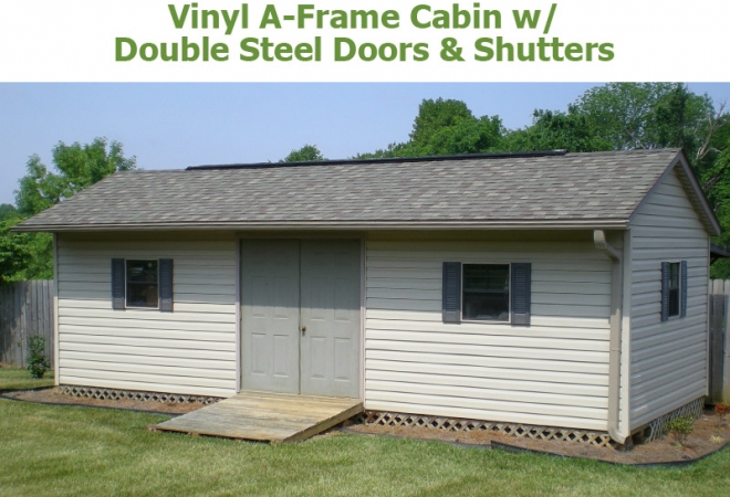 A Frame Cabins Bunce Buildings