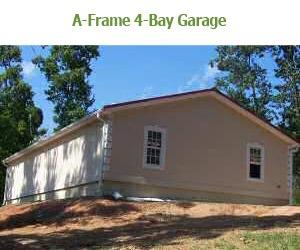 A Frame 4 Bay Garages Bunce Buildings