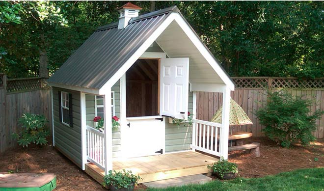 Build Steel Kids Playhouse Sheds Sunshine Coast