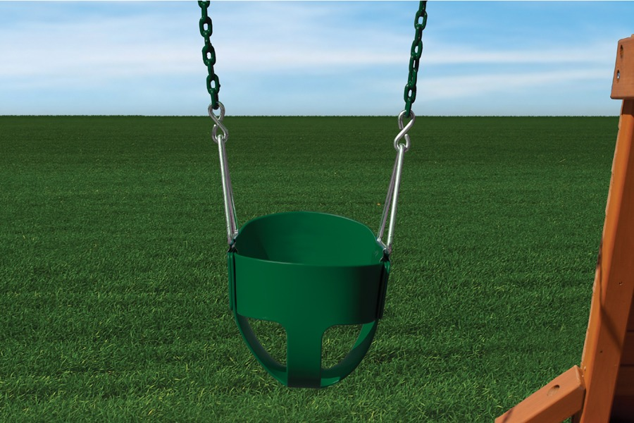 Full Bucket Toddler Swing With Chain Bunce Buildings