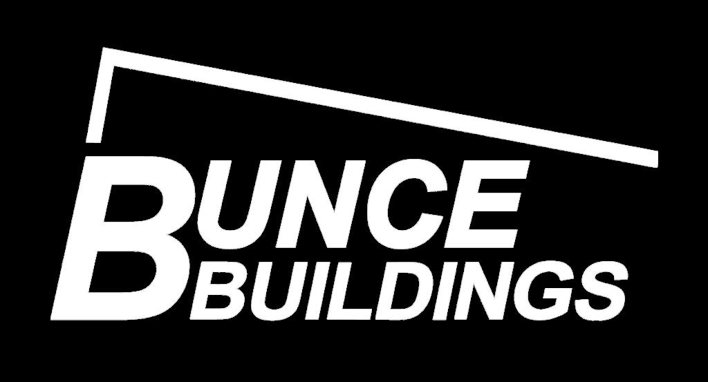 Bunce Buildings White Transparent Logo