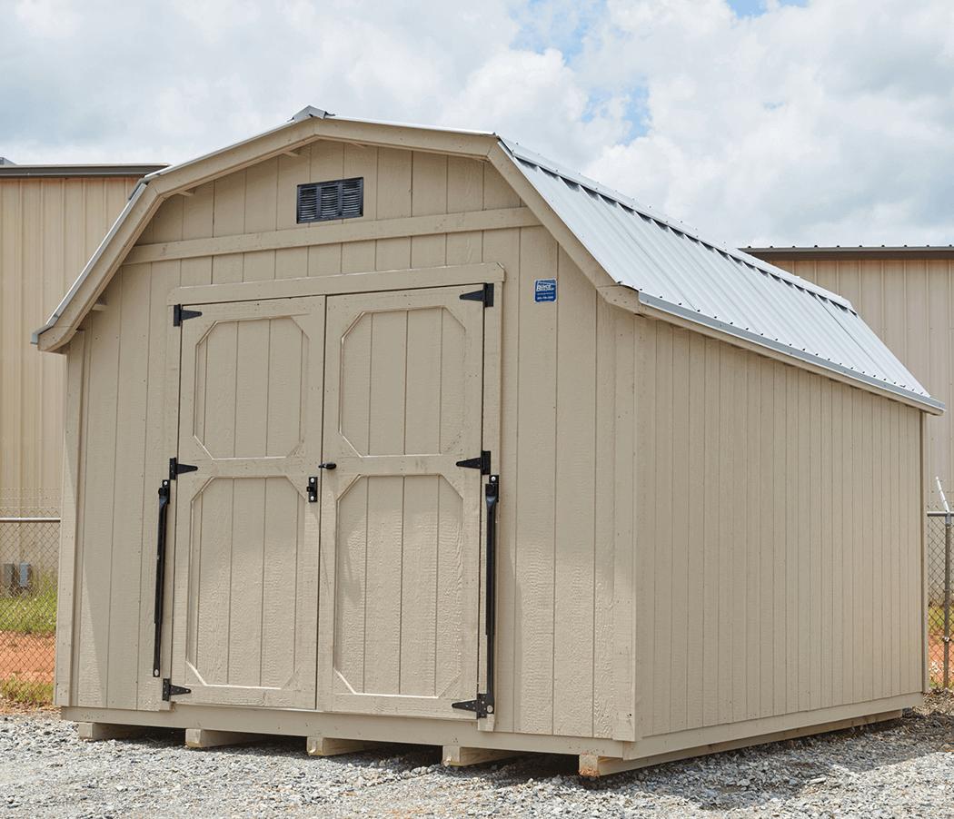 Amish storage building