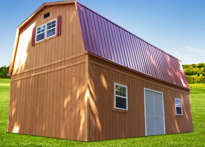 Barn with attic, Barn With Attic
