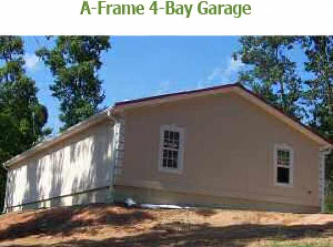 A Frame 4 Bay Garages Bunce Buildings