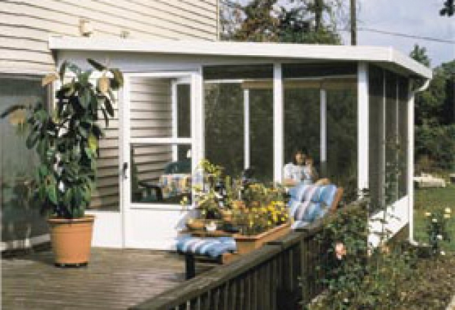 DESCRIPTION. Oasis® Aluminum Series Sunrooms From Joyce ...