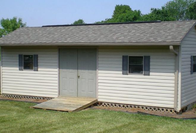 vinyl-a-frame-cabin-dbl-steel-doors-shutters